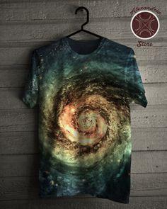 Camiseta Spiral Galaxy