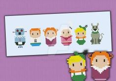 Mini People - The Jetsons by cloudsfactory