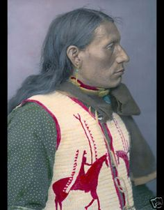 Charges Twice Native American Brule Indian 1904