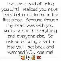 #truth. #yourloss                                                                                                                                                      More