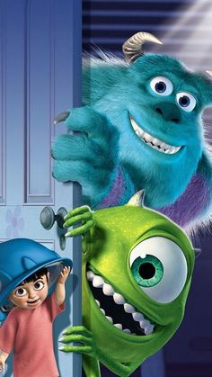 *BOO, SULLEY & MIKE ~ Monster inc,