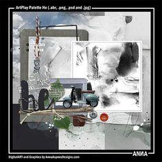 Oscraps.com :: Shop by Designer :: Anna Aspnes Designs :: ArtPlay Palette He