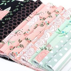 Discover your bliss with this attractive assortment! The pinks and mints featured within the Bliss assortment by My Thoughts's Eye for Riley Blake Designs are certain to face out in your ext challenge! Discover Yourself, Finding Yourself, Riley Blake, Fabric Crafts, Bliss, Mint, Collection, Instagram, Design