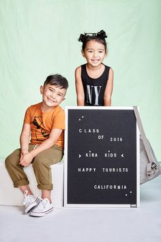 Kira Kids SS16 Collection launches March 16th on www.kirakids.com #kirakidsKira Kids SS16 Collection launches March 16th on www.kirakids.com #kirakids #kirahappytourists Spring Summer 2016, Ss16, Kids Fashion, March, Product Launch, California, Lettering, Children, Collection