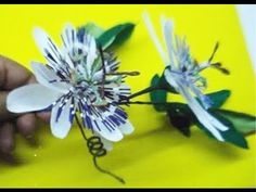 Paper Flower - Passion flower - YouTube