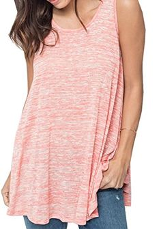 c9e234455a1d90 Women Sleeveless Loose Racerback Vest Tank Top XL Red     You can get  additional details at the image link.Note It is affiliate link to Amazon.   comment