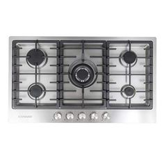 9. Cosmo VA-S950M Stainless Steel Gas Cooktop Kitchen Stove, Kitchen Dining, Kitchen Appliances, Professional Chef, Gas Stove, Fireplace Accessories, Building A House, Building Ideas, Cosmos
