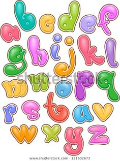 Find Illustration Bubbly Lettering Alphabet stock images in HD and millions of other royalty-free stock photos, illustrations and vectors in the Shutterstock collection. Thousands of new, high-quality pictures added every day. Bubble Letters Alphabet, Bubble Letter Fonts, Hand Lettering Alphabet, Graffiti Alphabet, Letter Art, Alphabet Art, Alfabeto Graffiti, Fonte Alphabet, Font Bubble