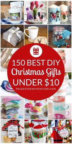 150 DIY Weihnachtsgeschenke unter 10 $ - #DIY #unter #WEIHNACHTSGESCHENKE