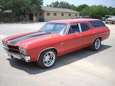 1971 Chevrolet Chevelle Concours Wagon   They don't make them like this anymore.