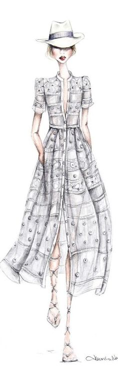 alexandra nea fashion illustration