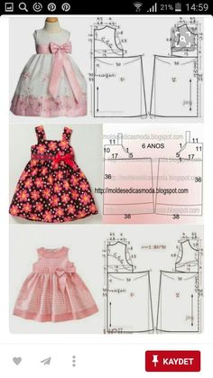 Baby Girl Dress Patterns Baby Clothes Patterns Love Sewing Baby Sewing Sewing For Kids Little Girl Outfits Kids Outfits Frock Design Sewing Clothes