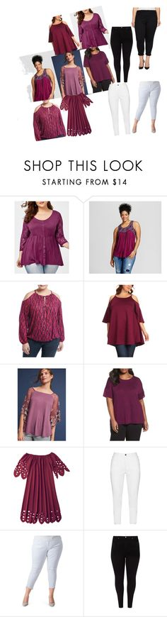 """mauve"" by b3beauty on Polyvore featuring Born Famous, MICHAEL Michael Kors, BellaBerry USA, Akemi + Kin, Eileen Fisher, Zhenzi, Poetic Justice, Studio 8 and plus size clothing"