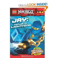 """LEGO Ninjago Chapter Book: Jay, Ninja of Lightning    5.0 out of 5 stars Enjoyable read, March 27, 2012  By Buttonie (Texas) -   This review is from: LEGO Ninjago Chapter Book: Jay, Ninja of Lightning (Paperback)  My 3rd grade son enjoyed this (and the other Ninjago Character Chapter books). All were fairly easy books, with just a few """"new"""" vocabulary words. True to the Cartoon Network/Lego series too. A good purchase."""
