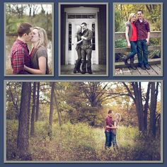 love this engagement session (vintage suitcase photography <3)