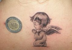 cute angel tattoo designs - Google Search