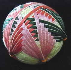 temari balls | temari balls patterns | Japanese Textiles