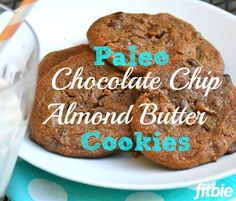 Almond butter makes for a moist, #grainfree, #paleo treat with a healthy hit of protein. | Fitbie.com