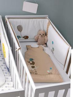 #Gigoteuse évolutive bébé spéciale été éléphants - Collection Printemps été 2014 www.vertbaudet.fr