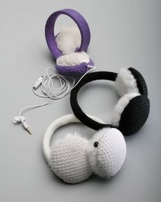 These Wired Headphone Earmuffs from CitySlips make a great gift idea.