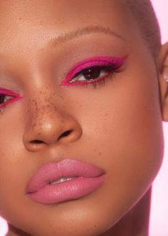 Eye Makeup Tips – How To Apply Eyeliner – Makeup Design Ideas Pink Makeup, Cute Makeup, Pretty Makeup, Makeup Art, Beauty Makeup, Hair Makeup, Beauty Skin, Simple Makeup, Awesome Makeup