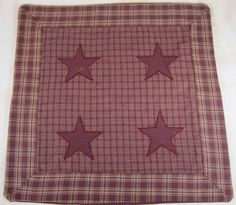 star pillow covers.