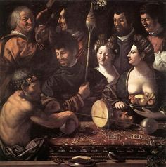 Witchcraft (Allegory of Hercules) - Dosso Dossi, 1535. WikiArt.org - the encyclopedia of painting