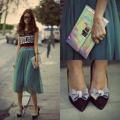 Pretty Purple Boutique Shoe Clips