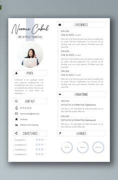 Creative Cv Template, Resume Design Template, Creative Resume Design, Best Cv Template, Portfolio Design Grafico, Beau Cv, Desgin, It Cv, Graphic Design Resume