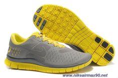 official photos aaf0c cf516 Zapatillas Nike, Zapatos, Hombre Gris, Amarillo, Ropa Deportiva, Hombres,  Carreras
