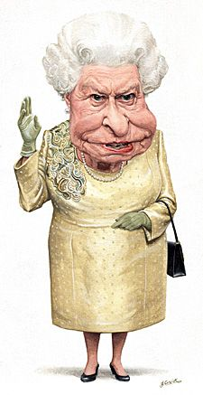 cartoon character queen elizabeth - Google Search