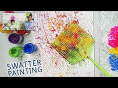 Alcohol Painting Technique | Coloring with Syringe Injection Easy Fun Art for Children - YouTube
