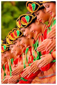 Saman dance, Aceh