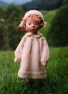 Деревянные куклы Elisabeth Pongratz (Германия)