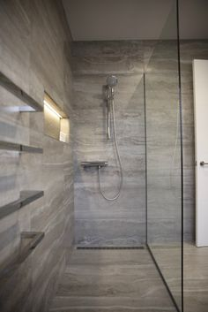 Wet room Renovation by Project Wet room Christchurch NZ Bathroom Design Layout, Best Bathroom Designs, Bathroom Design Inspiration, Bathroom Design Luxury, Bad Inspiration, Modern Bathroom Design, Wet Room Bathroom, Wet Room Shower, Bathroom Cabinets