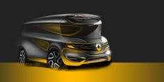 Renault - Light Commercial Vehicle on Behance