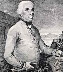 Field Marshal Michael von Melas (1729-1806) commanded Austrian forces in victories at the battles of Cassano, Trebbia, Novi, Genola, and the Siege of Genoa, and came near another victory over Napoleon at the Battle of Marengo before his handing over control to a subordinate following injuries.