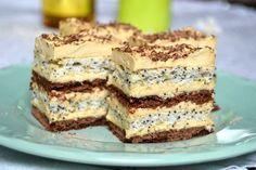 Prajitura Savana Romanian Desserts, Romanian Food, Torte Recepti, Cake Recipes, Dessert Recipes, Cake Factory, Torte Cake, Sorbet, Sweet Treats
