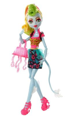 Monster High Freaky Fusion Lagoonafire Doll In Stock #DollswithClothingAccessories