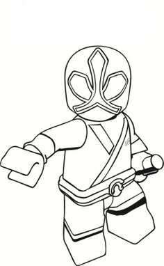 Printable Power Rangers Samurai Picture To Color Superheroes