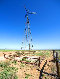 Three Corners (Kansas, Oklahoma, and Colorado) west of Elkhart, KS.