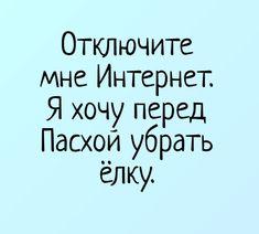 Отключите мне Интернет. Я хочу перед Пасхой убрать ёлку. | Самые лучшие демотиваторы и приколы на demotos.ru