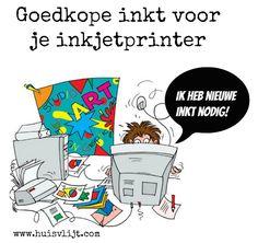 Goedkope inkt voor je inkjetprinter