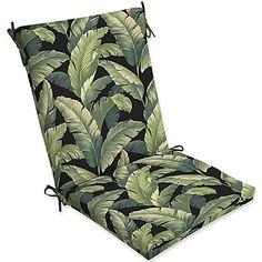 Selections by Arden Onyx Cebu Green 44-Inch x 20-Inch Patio Chair Cushion