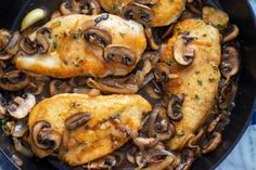 Dairy-Free One Pan Chicken Marsala