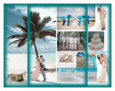 """""""Beach Wedding"""" by bren-johnson ❤ liked on Polyvore featuring Jimmy Choo"""