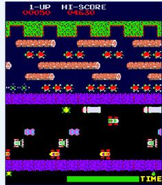 80s Arcade Game: Frogger use to be able to rock this game!