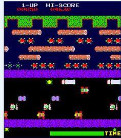 80s Arcade Game: Frogger