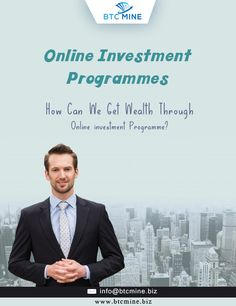 How to Invest in Bitcoin? Join Online Investment Programme at www.btcmine.biz