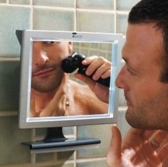 lifes too short to use your hands to wipe of vapor, get the fog less mirror!  http://www.giftitspecial.com/